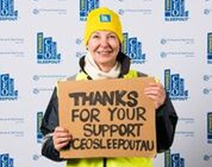 $15,534 raised for Vinnies CEO Sleepout
