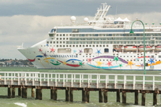 Norwegian Star welcomed back